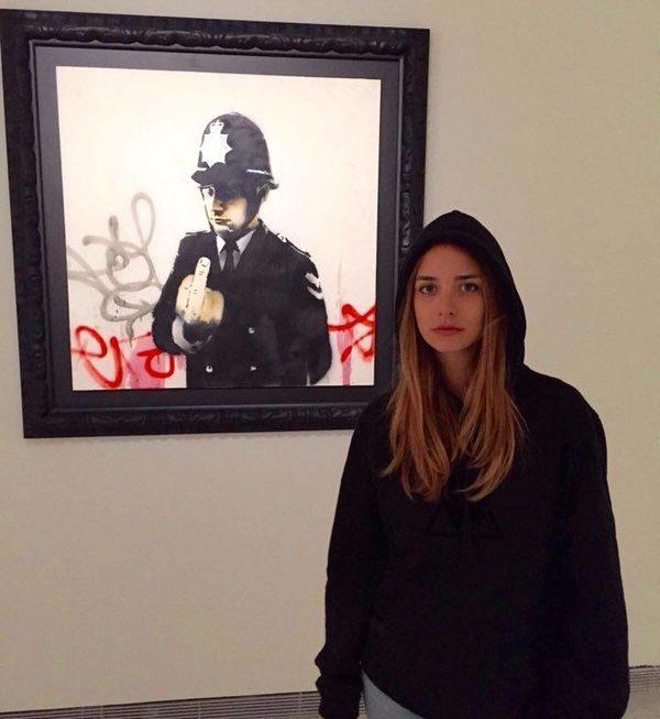 Banksy does Cipolla